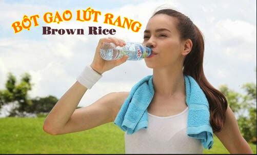 Thường xuyên uống nước và tập thể dục